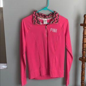 pink, victoria's secret pullover